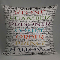 magic spell harry potter quotes pillow case one side or two side by NyamMug