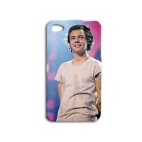 One Direction Hot Harry Styles Cute Phone Case iPhone 4 4s iPhone 5c 5 5s 6 Plus