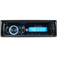 Dual XD5250 In-Dash CD/CD-RW Car Stereo Receiver with Remote and Front Panel USB Charging Port and Aux Input