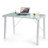 IKAYAA Modern Style Computer Desk Table  Perfect for PC Laptop Office Workstation