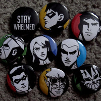 Young Justice Pins