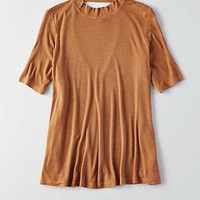 AEO Soft & Sexy Swing T-Shirt, Burnished Brown