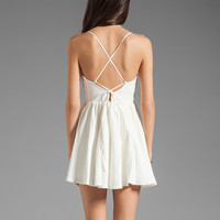 Cameo VCR Dress in White