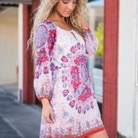 Hearts Collide Dress, Fiesta