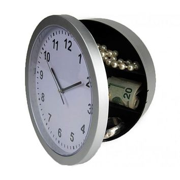Clock Stash Safe - Store Your Valuables in Plain Sight