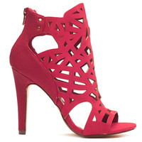 PERPLEXED BOOTIE - RED