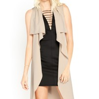 Layers To Love Draped Wrap Vest