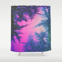 Crossover Shower Curtain by DuckyB (Brandi)