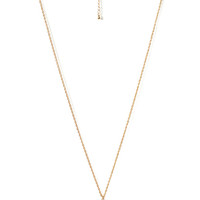 FOREVER 21 Filigree Locket Necklace Gold/Cream One