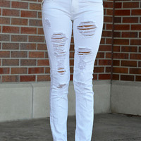 Maddy Distressed Skinny Jeans