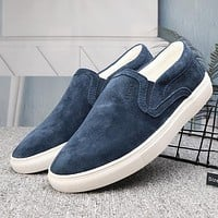 UGG Slip-On Woman Men Fashion Flats Shoes