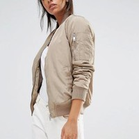 New Look | New Look Padded Bomber at ASOS