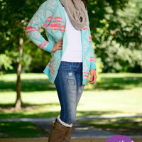 On Cloud Nine Cardigan, Light Blue