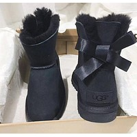 UGG  bowknot Short tube Women's Boots