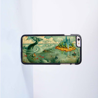 Disney Whale Island Plastic Case Cover for Apple iPhone 6 Plus 4 4s 5 5s 5c 6