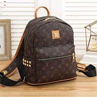 Louis Vuitton Women Men Fashion Leather Crossbody Bag