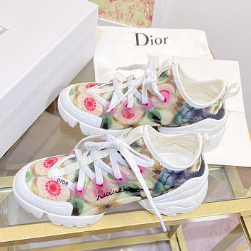Dior CD new personality thick-soled women's shoes casual sports daddy shoes 1