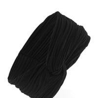 Ribbed Twisted Headwrap