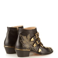 Susannah stud-embellished leather boots | Chloé | MATCHESFASHION.COM US