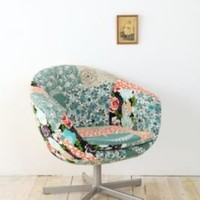 Patchwork Chair-Sky