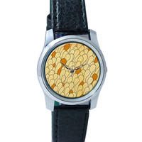 Quirky Abstract Patterns Wrist Watch