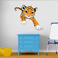 Baby Tiger Wall Decal Sticker