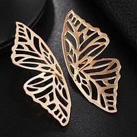 New Design Butterfly Animal Earrings For Women Vintage Exaggerated Jewelry Gold Earrings Personalized Statement Bohemian Brincos