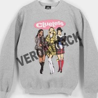 clueless cover Unisex Sweatshirts
