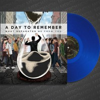 """What Separates Me From You Clear Blue 12"""" Vinyl : MNDI : MerchNOW"""