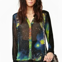 Space Oddity Blouse