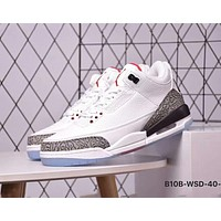 NIKE AIR JORDAN 3 Series Classic Culture Basketball Shoes