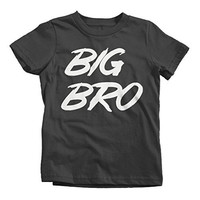 Shirts By Sarah Boy's Big Bro T-Shirt Brother Shirts Promoted To Youth