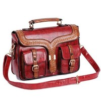 Retro Candy Color Clutch Bag Shoulder Bag