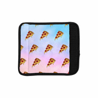 """Juan Paolo """"Lucid Pizza"""" Food Pattern Luggage Handle Wrap"""