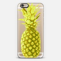 Yellow Pineapple iPhone 6 case by Sarah Marie   Casetify