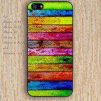 iPhone 5s 6 case wood colors wooden colorful phone case iphone case,ipod case,samsung galaxy case available plastic rubber case waterproof B533