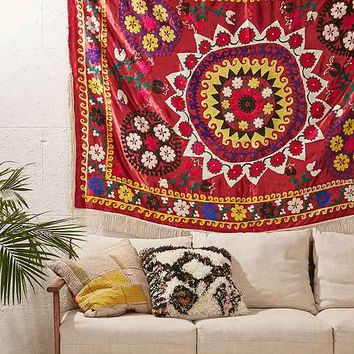 One-Of-A-Kind Suzani Tapestry