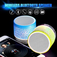 Portable Mini Bluetooth Speakers Wireless Hands Free LED Speaker With TF USB FM Sound Music For Mobile Phone For Pocophone F1