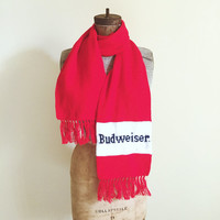 Budweiser,  Beer, Winter, Scarf, Drinking Team, Hipster, Unisex Accessory