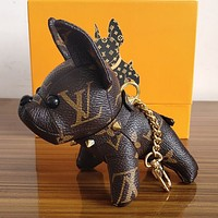 Louis Vuitton LV Cute Dog Bag Charm And Key Holder-6