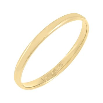 Solid Band 14K