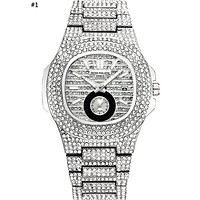 Patek Philippe 2019 new high-end fashion calendar diamond watch #1
