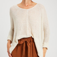 Links Back To You Sweater - Cream