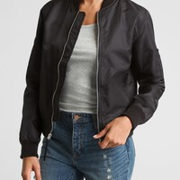 Nylon Bomber Jacket | Gap Factory
