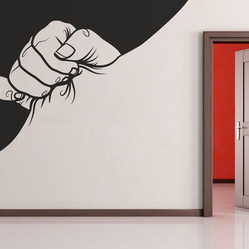 Vinyl Wall Decal Sticker Giant Hand #OS_MB252
