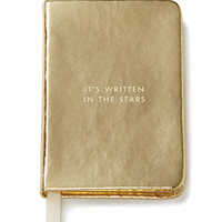 kate spade new york take note mini notebook gold