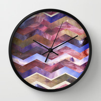 We are all made of stars Wall Clock by Nika