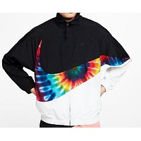 Nike Newest Fashion Women Men Zipper Cardigan Sweatshirt Jacket Coat Windbreaker Sportswear