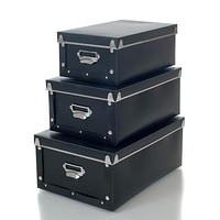 Sto-Away  Retro Storage Boxes - Set of 3 - Collapsible