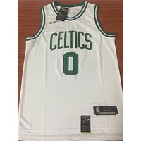 Boston Celtics #0 Jayson Tatum White Swingman Jersey